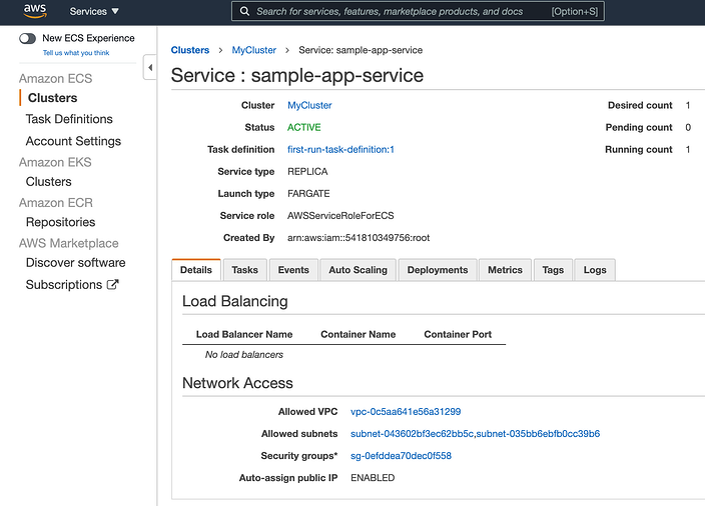 Amazon_ECS_Fargate_Service_Running