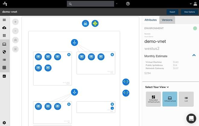 Azure Cloud Architecture Diagram Cloudcraft Alternative