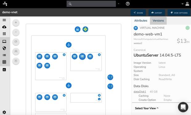 Azure Cloud Visualization