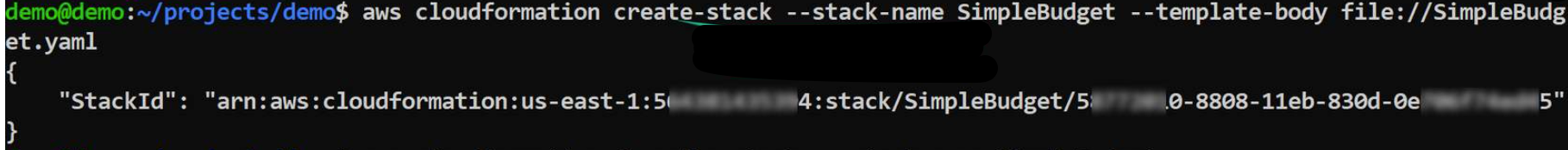 CloudFormation_CLI_create_stack
