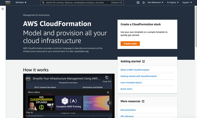 CloudFormation_Home