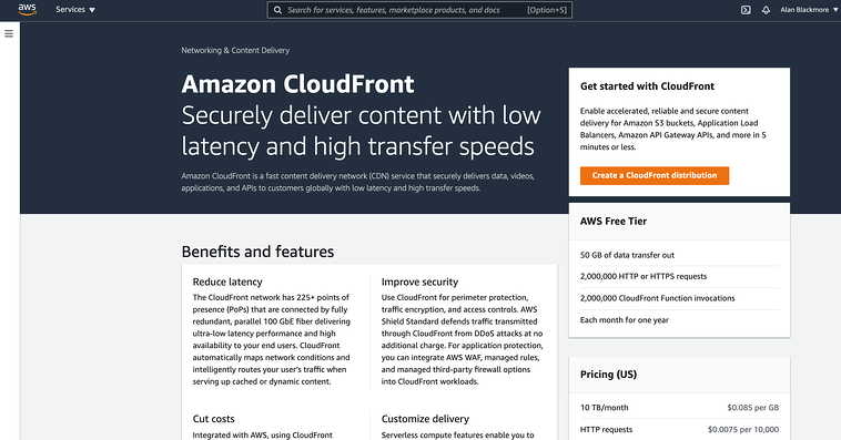 CloudFront_Home