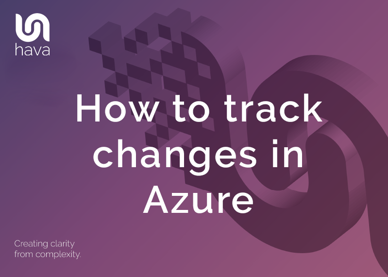 How to track changes in Azure