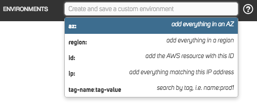 Search AWS account