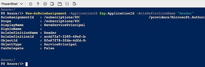 Azure Role Assignment